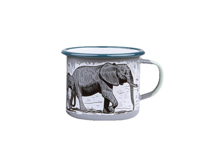 Kubek emaliowany, Elephant
