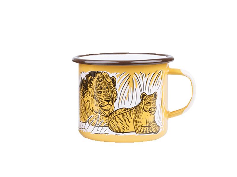 Kubek emaliowany, Lion