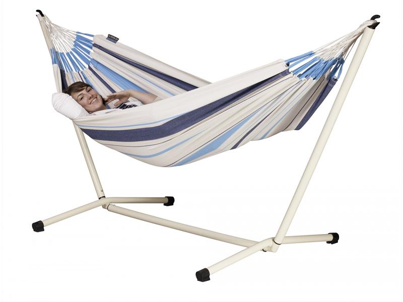 Hammock set: hammock Caribena with stand Neptuno, CIH14NPS125