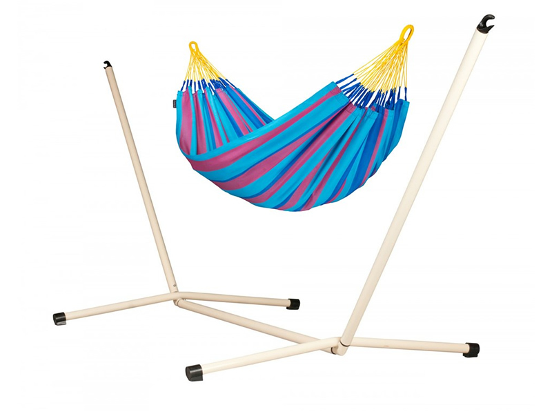 Hammock set: hammock Sonrisa  with stand Neptuno, SNH14NPS125