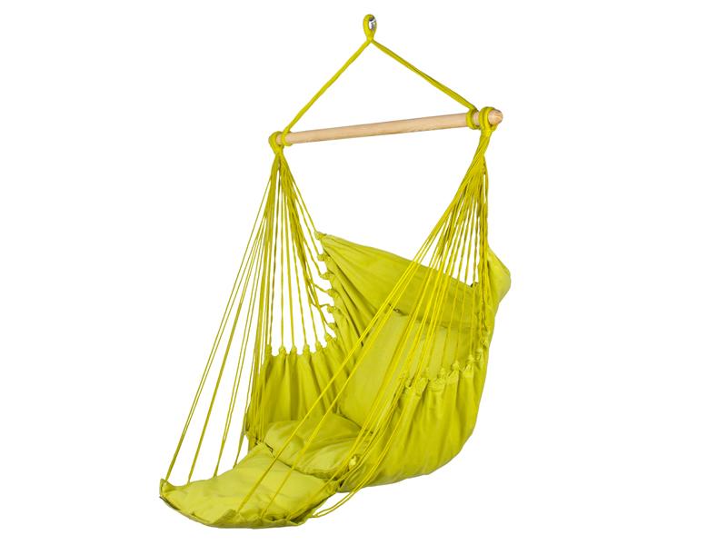 Fotel hamakowy z podstawką, Parakeet Green HC-FR