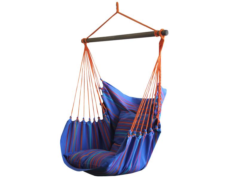 Leżak hamakowy, Niebieski / turkusowy HCXL