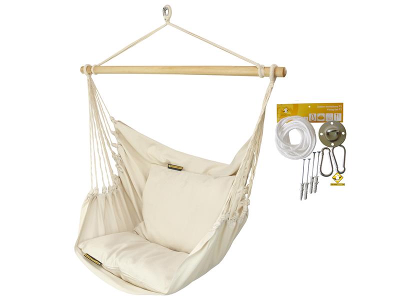 Leżak hamakowy HCXL z zestawem montażowym, zhcxl209-koala/fix/ch1