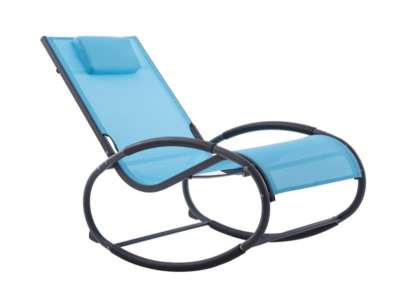 Fotel bujany, niebieski WAVEROCK1