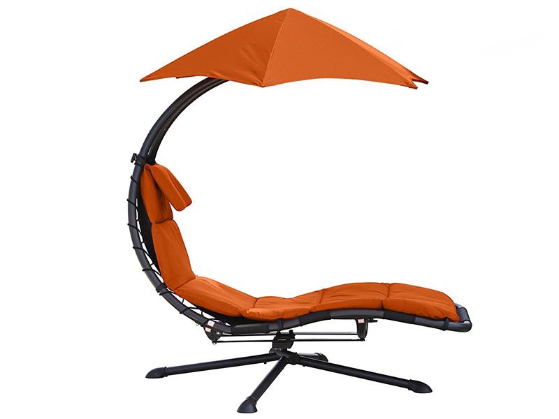 Fotel hamakowy, pomarańczowy DRM360