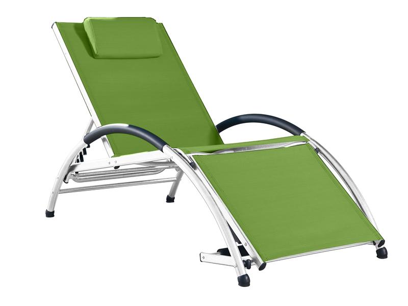 Leżak Dockside, zielony DKDSUN