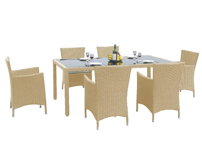 Zestaw mebli stołowych CAPITALE, beżowy MS.001.003