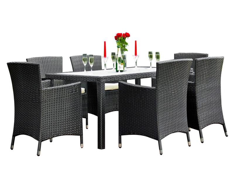 Zestaw mebli stołowych CAPITALE, czarny MS.001.003