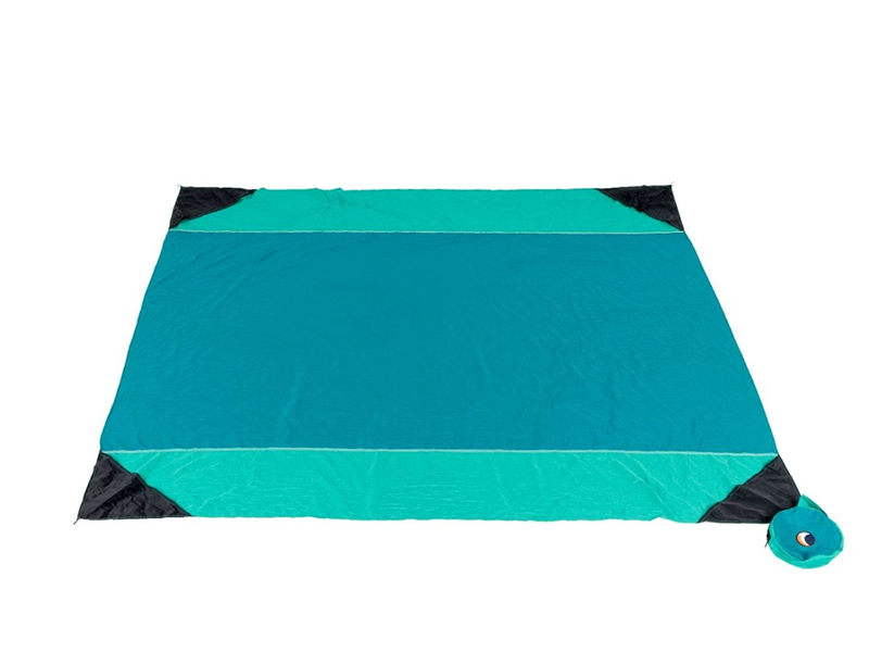 Beach blanket, zielony TMBB