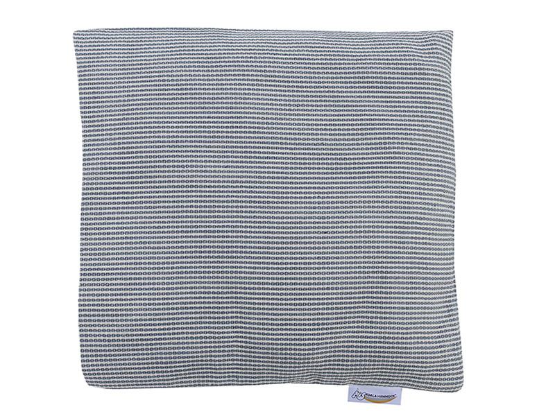 Poduszka hamakowa duża, biało-niebieski HP-2