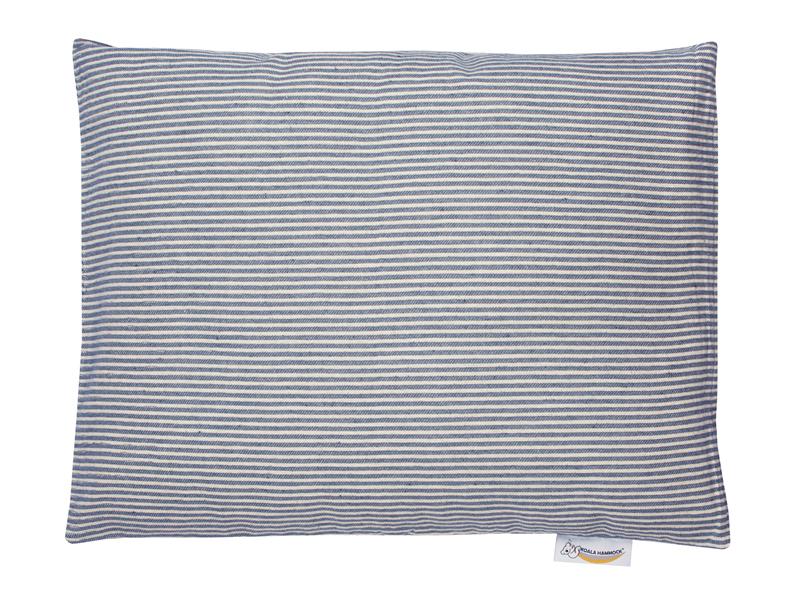 Poduszka hamakowa duża, niebiesko-kremowy HP