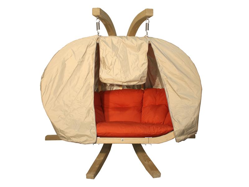 Pokrowiec, beżowy Pokrowiec Swing Chair Double