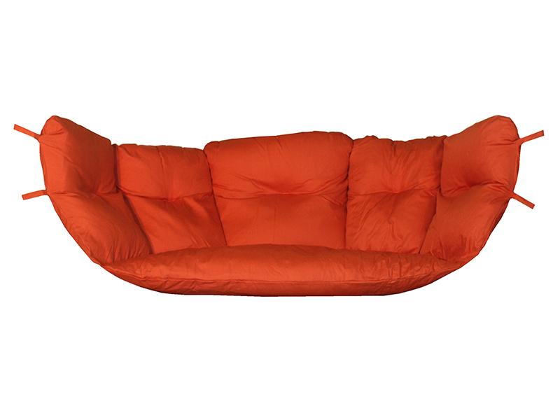 Tapicerka do poduchy, Czerwony Tapicerka Swing Chair Double (3)