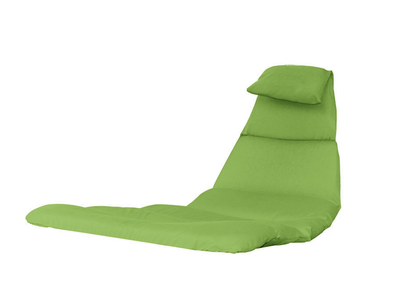 Poduszka do leżaka, zielony DRMC