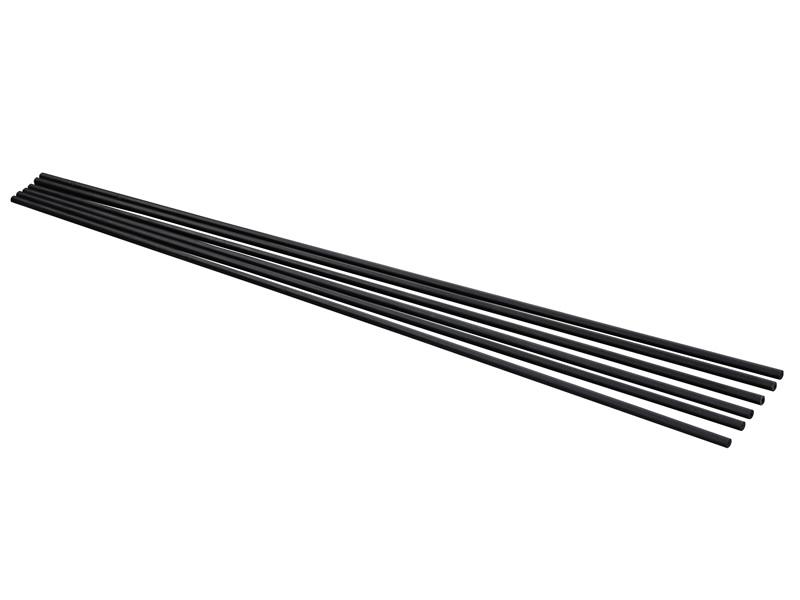 Pręty do parasola do leżaka, czarny DRMU-RRS