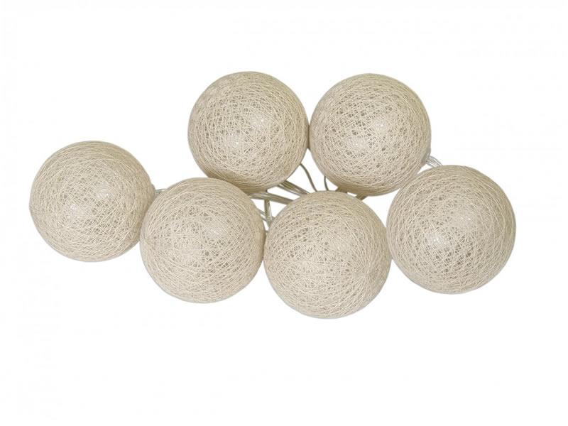 Świecące kule led, Cotton Balls 6