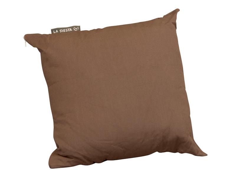 Bawełniana poduszka Modesta, Brązowy MOP5S