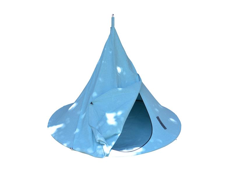 Drzwi do namiotu wiszącego jednoosobowego, Cyan blue Olefin Single(1)