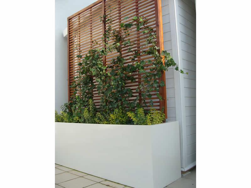 Drewniana kratka ogrodowa, sosna Oslo90