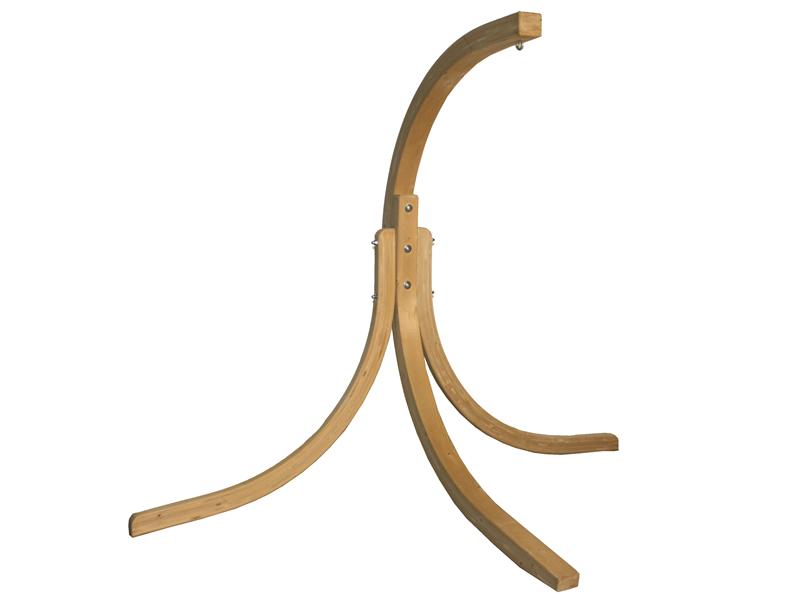 Stojak do foteli hamakowych, drewno - oliwka Alicante Swing stand