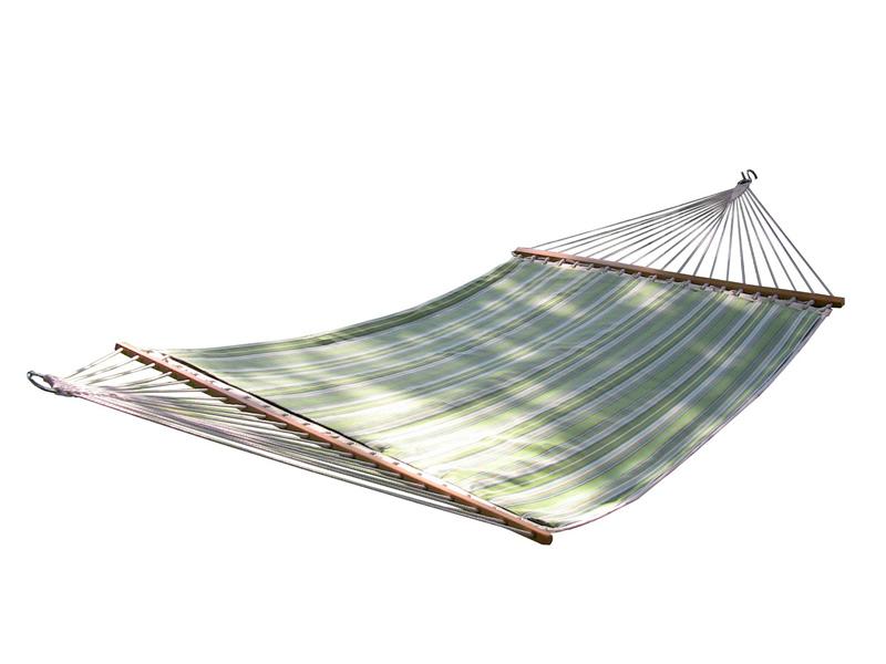 Pikowany hamak Sunbrella z drążkiem dwuosobowy, SUN2