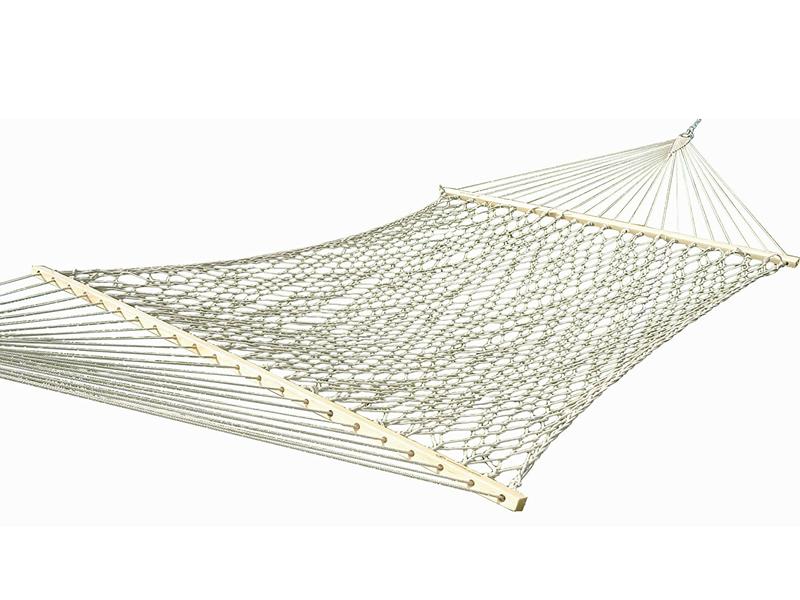 Hamak dwuosobowy z drążkiem Cotton Rope, COT