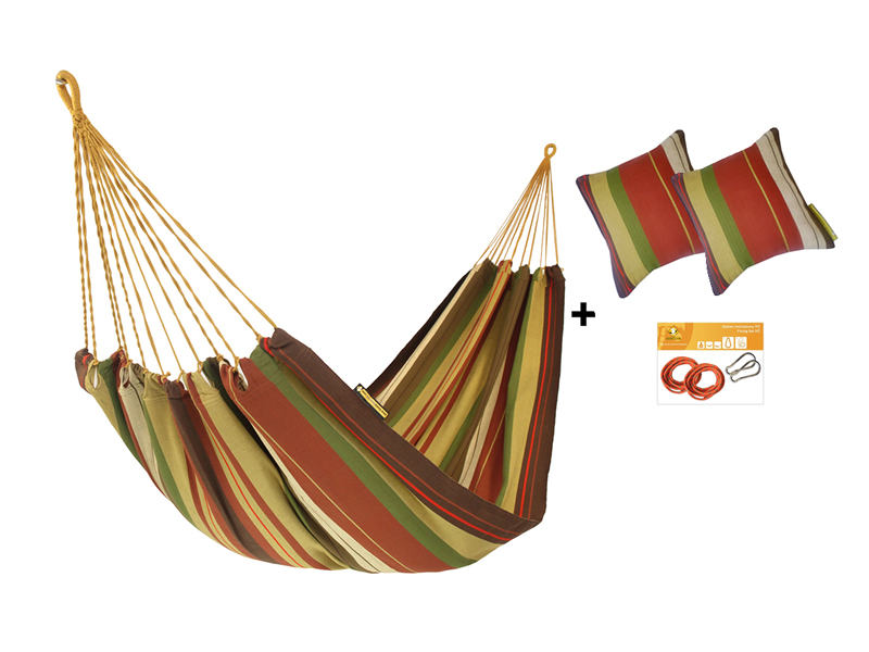 Hammock set HW in color 267 with pillows and fixing set
