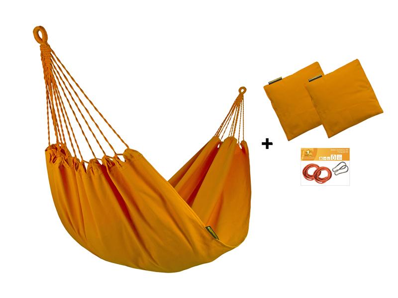 Hängematten-Set H in Farbe 304 mit Kissen und Bausatz