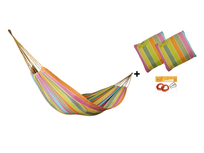 Hängematten-Set HW in Farbe 253 mit Kissen und Bausatz