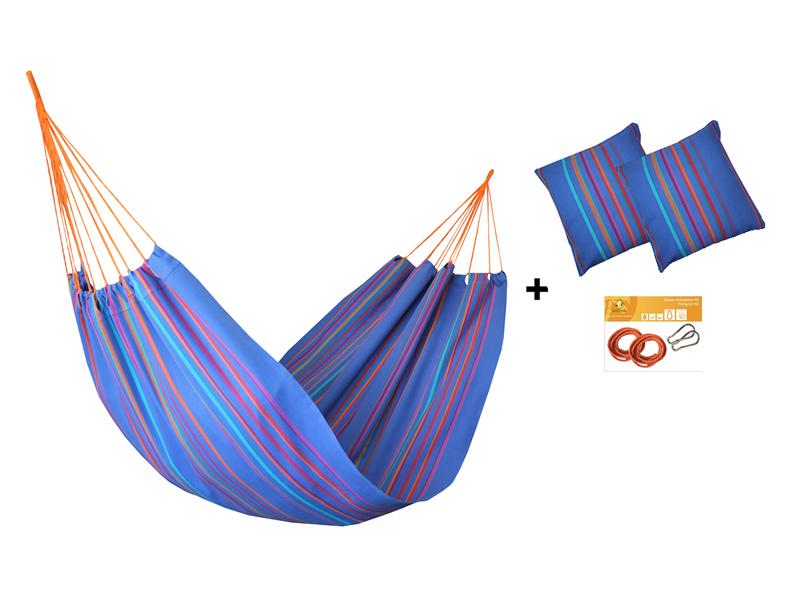 Hängematten-Set HW in Farbe 278 mit Kissen und Bausatz