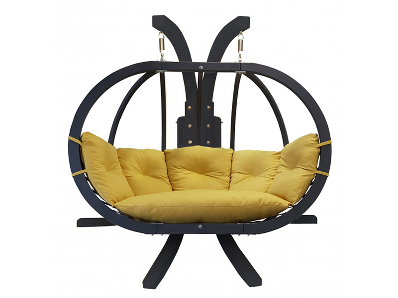 Zestaw: stojak Sintra Antracyt + fotel Swing Chair Double antracyt (11)