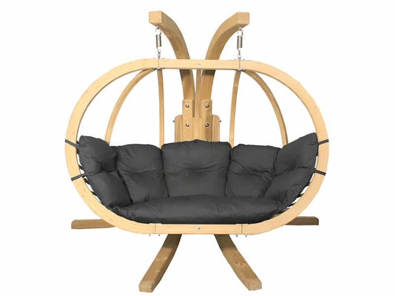 Zestaw: stojak Sintra + fotel Swing Chair Double (3), Sintra + Swing Chair Double (3)
