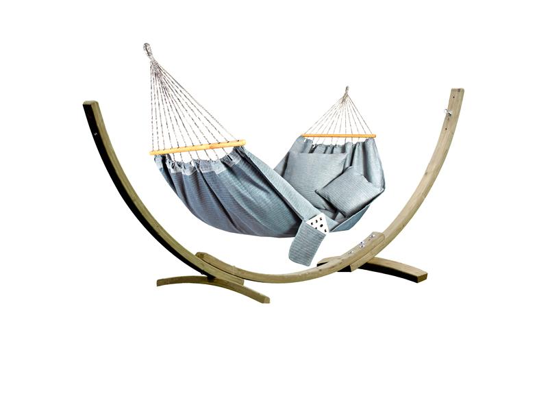Zestaw tęczowy, morski Hamak HS-323 + stojak Aztek