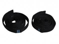 Pasy do montażu hamaków, Fix set - czarny(black)