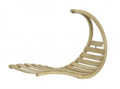 Drewniany fotel hamakowy, Swing Lounger - Szary(Anthracite)