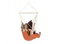 Fotel hamakowy, California - Brązowy(Terracotta)
