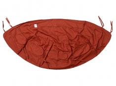 Fotel hamakowy dwuosobowy drewniany, Globo Royal Chair Terracotta - Czerwony(Terracotta)