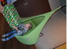 Namiot wiszący, Jednoosobowy Bebo - Leaf Green(2)
