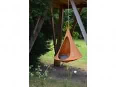 Namiot wiszący, Jednoosobowy Bebo - Orange Mango(3)
