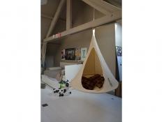 Namiot wiszący, Jednoosobowy Bebo - Natural White(1)
