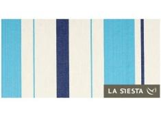 Fotel hamakowy Caribena C140, CIC14 - niebiesko-biały(3)