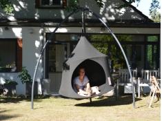 Namiot wiszący, Jednoosobowy Domo - Charcoal(0DOS4)