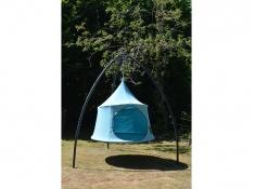 Namiot wiszący, Jednoosobowy Domo - Cyan blue(DOS7)