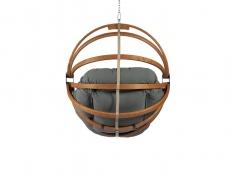 Fotel hamakowy drewniany, Gaya (M)-G - grafitowy(3)