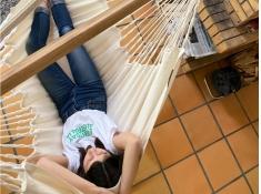 Fotel hamakowy Habana, HAL18 - naturalny(X1)