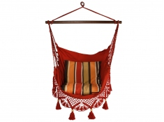 Fotel hamakowy, AHC-11 - Czerwony(325)
