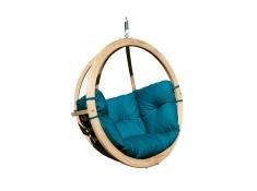 Fotel hamakowy drewniany, Swing Chair Single - zielony(3)