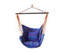 Fotel hamakowy, HC10 - Niebieski / turkusowy(278)