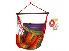Fotel hamakowy HC10 z zestawem montażowym, zhc10-298-koala/fix/ch1 - Colorful(298)