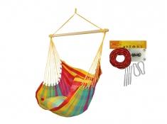 Fotel hamakowy HC10 z zestawem montażowym, zhc10-154c-koala/fix/ch2 - Viva Mexico(154c)